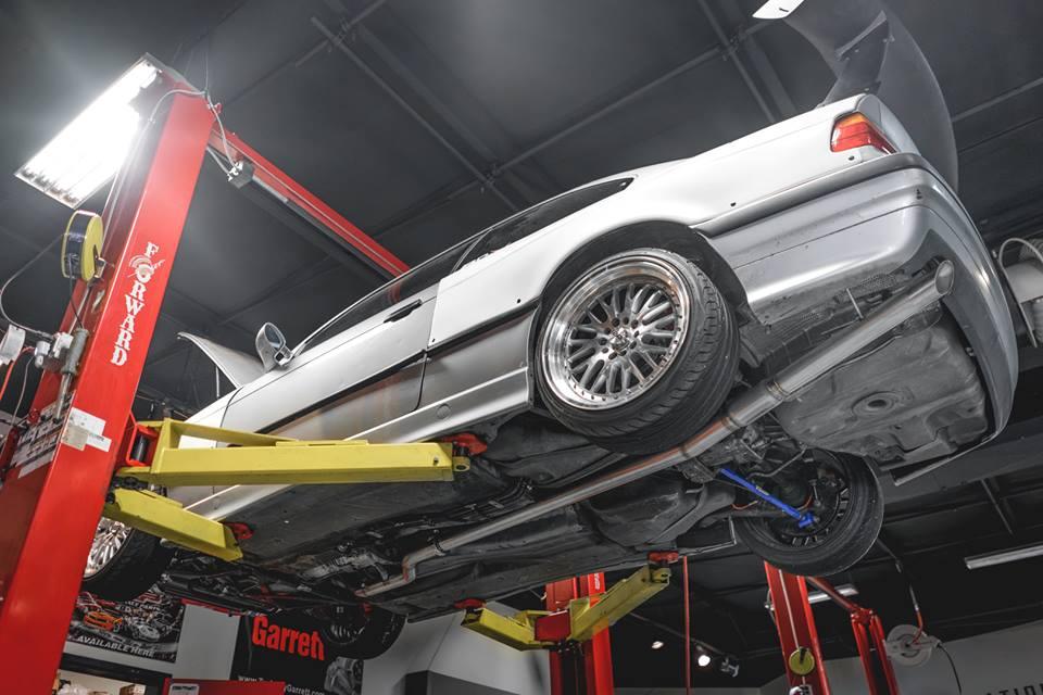 "Custom 3"" BMW Exhaust"