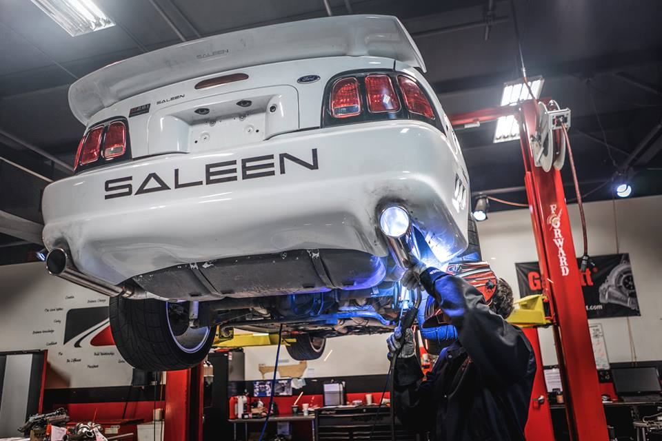 Mustang Saleen Exhaust