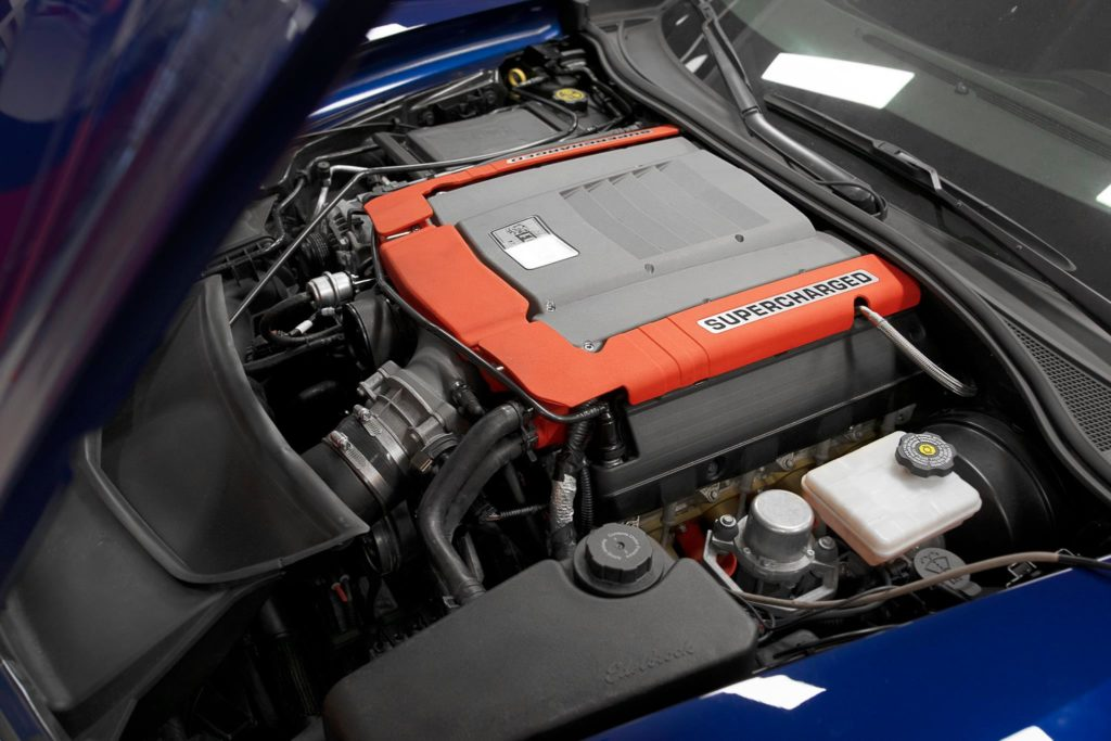 Edelbrock Supercharged C7 Corvette Grand Sport