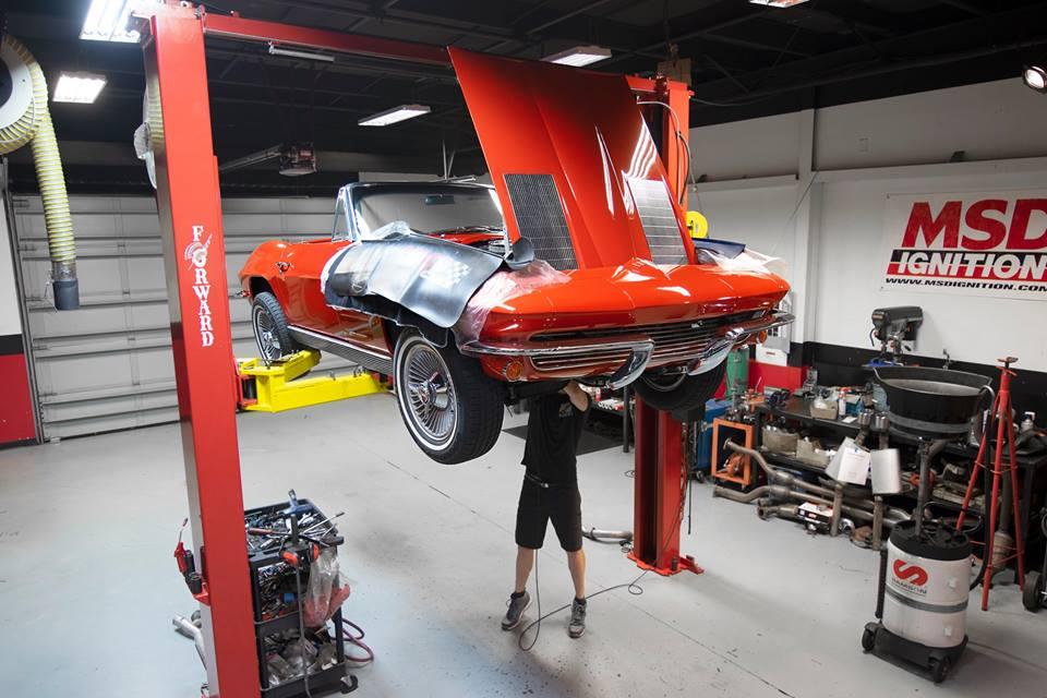 1963 Chevrolet Corvette - Cam & Refresh - National Speed